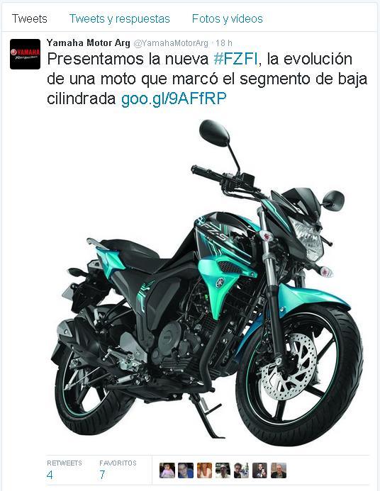 Yamaha FZFI