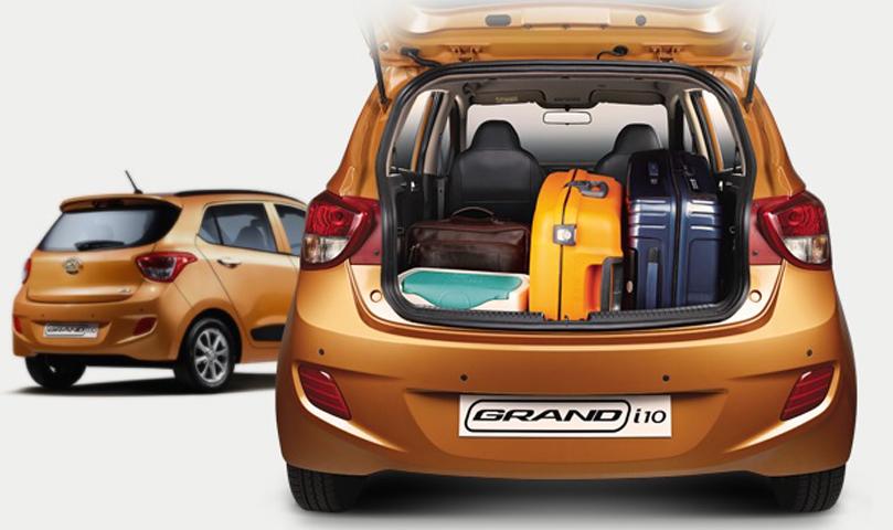 Hyundai Grand i10  baúl ok