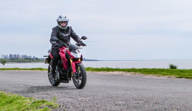 Test Honda CB 190R